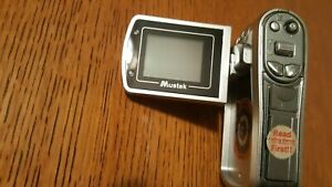 Hand Held Digital Video Recorder + Camera! Camcorder - No Battery Cover