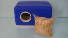 FERAL CAT POD (SHIPS NEXT BUS. DAY) BLUE OUTDOOR CAT HOUSE, SHELTER, BED