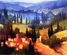 "Philip Craig ""Tuscan Valley View"" Fine Art Reproduction"