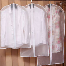 Housse Vêtement Rangement Costume Sac Transparents Anti-poussière Protection NF