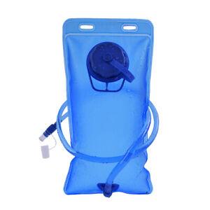 2L Trinkblase Tasche Wandern Camping Rucksack Wasser Trinkbeutel Sportim