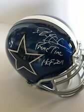 Deion Sanders Autographed Custom Full Size Helmet With Inscriptions, Beckett
