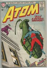 The Atom #10 DC (1964) Silver Age Comic Book FN+/VF-