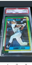 Sammy Sosa Chicago White Sox 1990 Topps Rookie Card RC #692 PSA 10 LOW POP!
