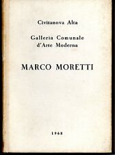 Catalog for the opening Gallery Marco Moretti 1968