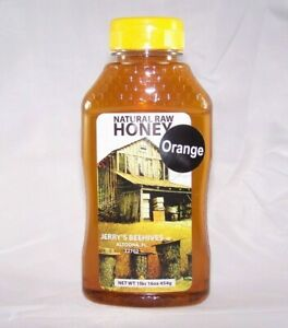 Orange Blossom Honey 1 Lb Heart of Florida Completely Raw Honey