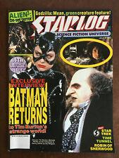 Starlog Magazine 180 -Batman Returns, Aliens 3, Godzilla, Star Trek, Time Tunnel