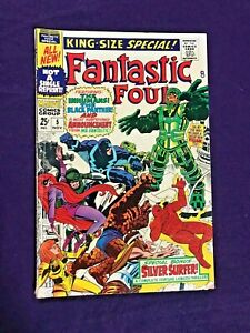 FANTASTIC FOUR ANNUAL #5 - 1967 - 1st solo SILVER SURFER
