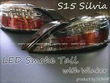Nissan Silvia S15 LED Smoke  Left And Right Taillight Set RHD OEM JDM