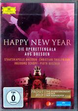 DVD Christian Thielemann: Happy New Year Dresde Piotr Beczala Ingeborg Schöpf