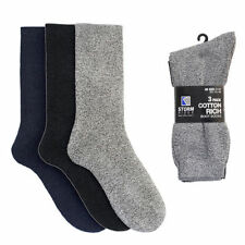 Cotton Blend Patternless Singlepack Socks for Men