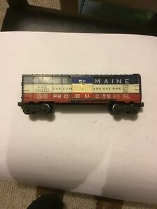 Lionel 6464-275 B A R State Of Maine Nice Condition