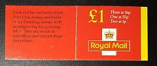 Royal Mail Booklet Stamps £1 Mnh (No857)