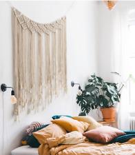 Boho Woven Macrame Wall Hanging Wedding Backdrop Chic Bohemian Home Art Decor JA