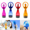 Portable Battery Operated Water Misting Cooling Fan Spray Bottle