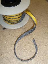 Stove flat sealing tape black 12mmx 3mmx1m adhesive Bkd