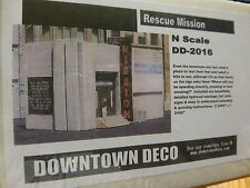 Downtown Deco N #DD2016 1st Street Rescue Mission (Plaster Kit)