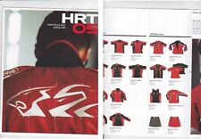 2005 HOLDEN RACING TEAM HRT Merchandise Brochure - Shirts Caps etc SKAIFE KELLY