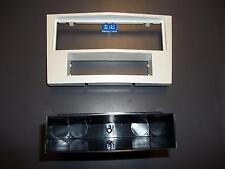 Stéréo visage 1 Din avec tiroir Corsa 2011 jusqu'à BLANC ou gris POLI