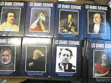 """Lot de 11 """" Les grands écrivains """" tome 1,3,4,5,6,7,8,9,10,12"""