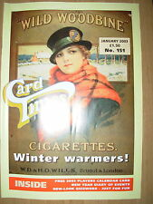 CARD TIMES MAGAZINE FORMERLY CIGARETTE CARD MONTHLY No 151 JANUARY 2003