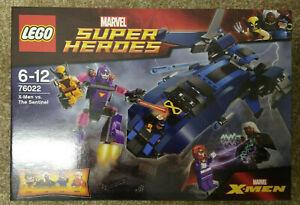 Lego Marvel Super Heroes 76022 X-Men Vs The Sentinel, New & Sealed, Magneto