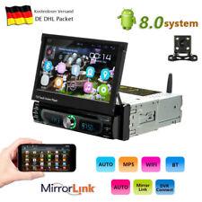 Android 8.0 Autoradio Bluetooth DVD GPS Navigation 1DIN USB FM WIFI + Kamera