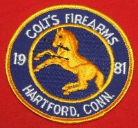 COLT FIREARMS FACTORY Rampant Colt Patch  1981