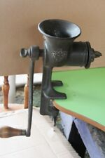 VINTAGE CAST IRON UNIVERSAL FOOD CHOPPER NO. 3  65 YEARS OLD AT LEAST