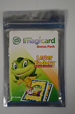 LeapFrog Letter Factory Imagicard Learning Game Booster Pack 10 Cards