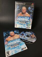 WWE SmackDown Here Comes the Pain PS2 COMPLETE CIB Sony PlayStation 2 TESTED THQ