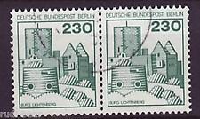 Berlín nº 590 Vandersanden. castillos & cerraduras waagrechtes par