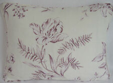Linen Blend French Country Rectangular Decorative Cushions