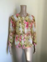 Rrp £99 TED BAKER Rubea Tea Party Shirt Blouse Top Size 1 UK size 8