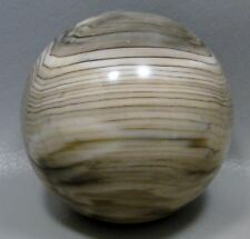 Petrified Wood 2.5 inch Stone Sphere Sequoia Fossil Washington 65 mm Ball #6