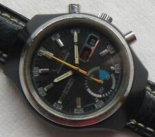 Citizen BLS Automatic Chronograph mens wristwatch black case cal. 8100