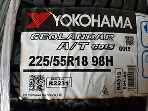 Yokohama Geolandar 225/55 R18 98H Winterreifen neu