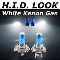H4 472 501 60/ 55w White Xenon HID Look Headlight Dip Main Beam Bulbs Road Legal