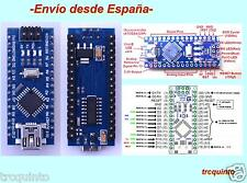 arduino nano R3 Compatible con ATMEGA328 con chip usb CH340G (Soldado)