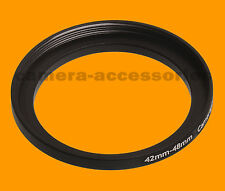 42mm to 48mm 42-48 Stepping Step Up Filter Ring Adapter 42-48mm 42mm-48mm