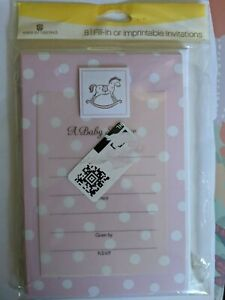 American Greetings Invitations or Announcements (Boy & Girl)