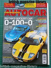 Autocar 28/6/2005 Lotus Exige 240R TVR Sagaris Ford GT Chevrolet Corvette