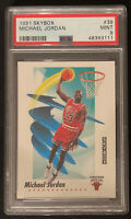 1991 SkyBox Michael Jordan #39 Basketball Card PSA Graded 9 Mint Investment📈🔥