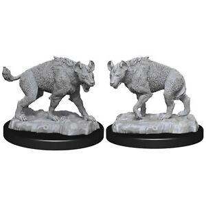 Pathfinder Battles Deep Cuts Unpainted Miniatures Hyenas