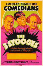"""The Three Stooges Movie Poster Replica 13x19"""" Photo Print"""