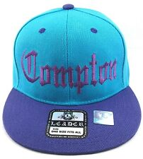 COMPTON Snapback Hat South Central Los Angeles California Cap OSFM New