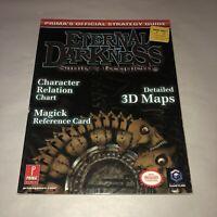 VGC Eternal Darkness: Sanity's Requiem Gamecube Strategy Guide (Prima) RARE