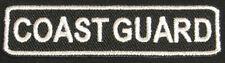 COAST GUARD Iron-On Patch/Badge for USCG US T-Shirt Hat Cap Uniform Bag 25P
