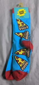 Oooh Yeah! Boy's Pizza Party Crew Socks KW6 Multi-Color Size 7-10 NWT