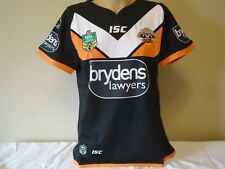 ISC OFFICIAL LICENSED NRL WEST TIGERS WOMEN'S HOME JERSEY SZ 10 NEW